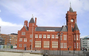Photo: Cardiff Bay The old docks building