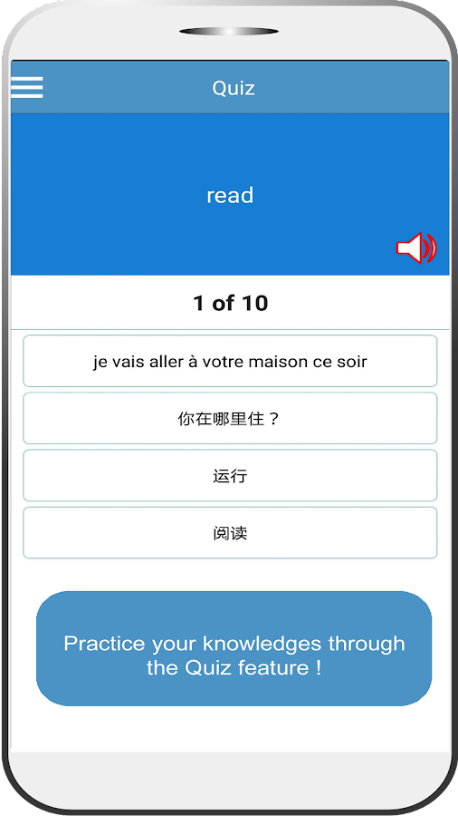 Languages Translator & Quiz- screenshot