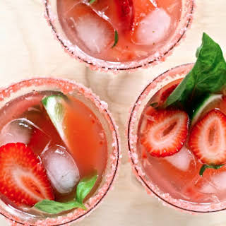 Strawberry Basil Margarita.