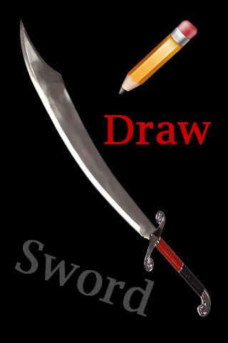 How To Draw Sword