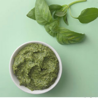 Basic Basil Pesto.