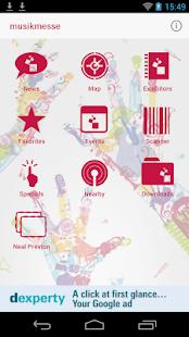 Musikmesse Navigator - screenshot thumbnail