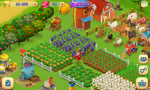 Sunny Fields: Farm Adventures  captures d'u00e9cran 1