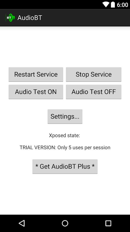 AudioBT: BT audio GPS- screenshot