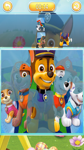 Jigsaw puzzle paw the dog android2mod screenshots 5
