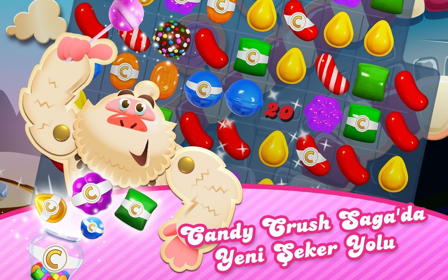 Candy Crush Saga - screenshot