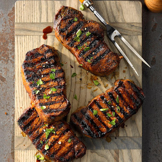 Favorite Grilled Pork Chops Recipe