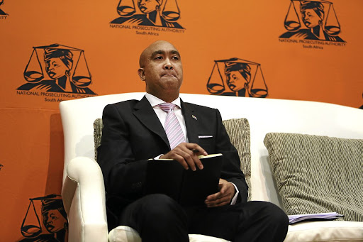 MY LIPS ARE SEALED National Prosecuting Authority (NPA) head Shaun Abrahams. 'Come on Shaun. Find your heart, find your backbone. Your country needs you. Act!'Picture: ALON SKUY
