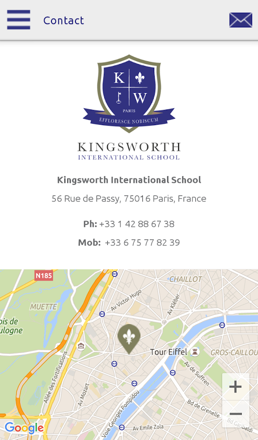 Kingsworth School- screenshot