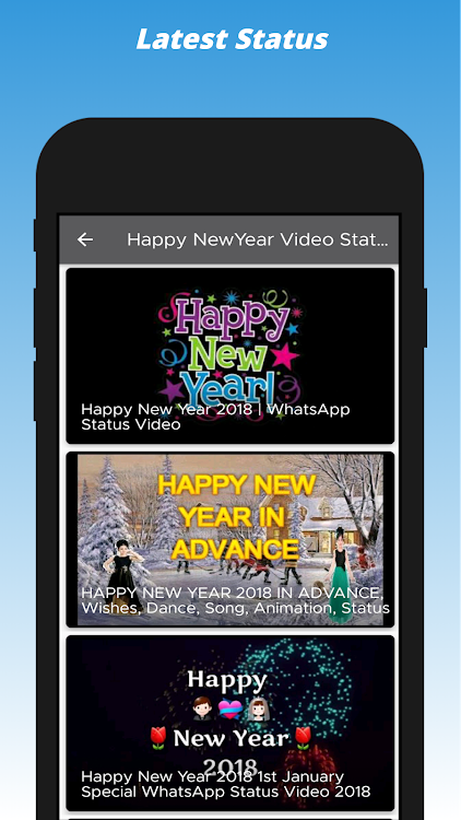 Happy New Year Status Videotext And Images Wishes