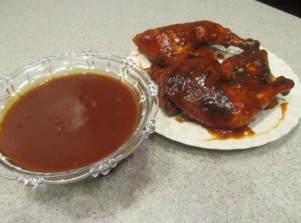 Elmer's Bar-b-que Sauce & Char-grilled Chicken Recipe