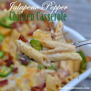 Jalapeno Popper Chicken Casserole.