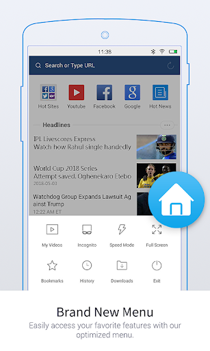 UC Browser Mini -Tiny Fast Private & Secure  screenshots 1