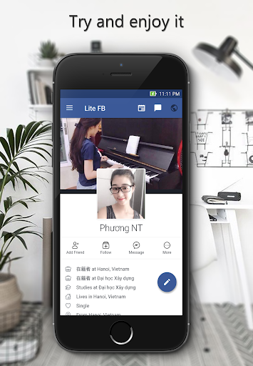 lite for facebook and messenger app apk free download for android pc windows. Black Bedroom Furniture Sets. Home Design Ideas