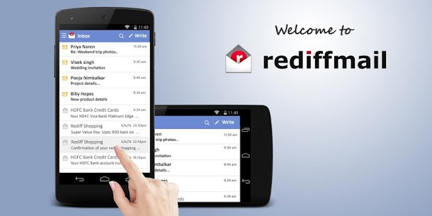 Rediffmail Professional App Latest Version Download For Android 1