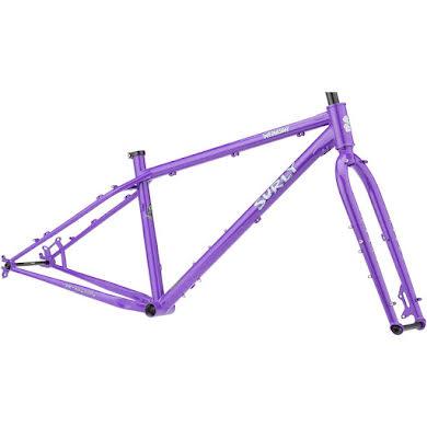 Surly Wednesday Fat Bike Frameset - All-Natural Grape