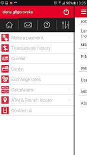 MOJA BANKA, Mobile Bank - náhled