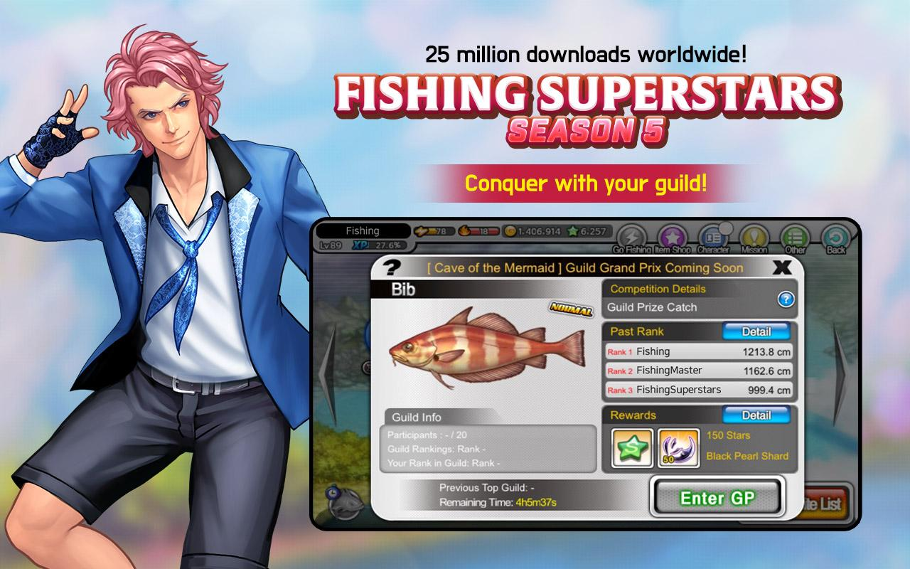 Screenshots of Fishing Superstars : Season5 for iPhone