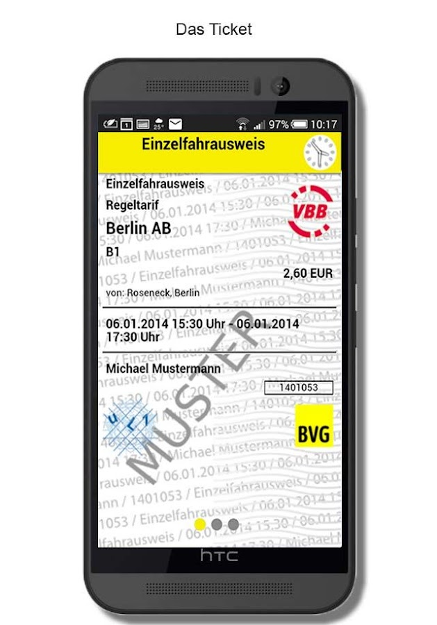BVG FahrInfo Plus- screenshot
