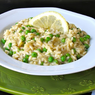 Lemon Risotto with Peas Recipe