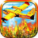 Airplane Firefighter Simulator Pilot Flying Games icon