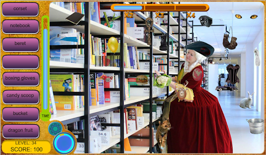 Time Library - Hidden Object- screenshot thumbnail