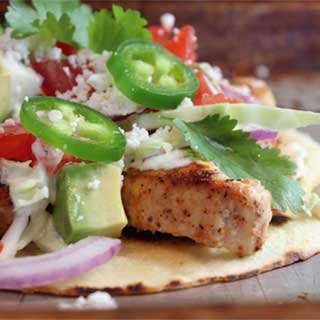 Amberjack Fish Tacos