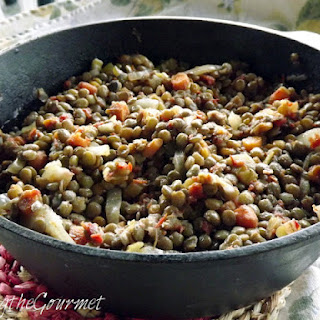 Lentils with Vinegar and Honey