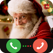 Real Video Call from Santa Claus