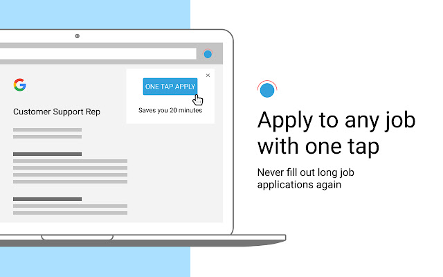 One Tap: Job Search Helper