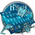Space Galaxy Keyboard Theme icon