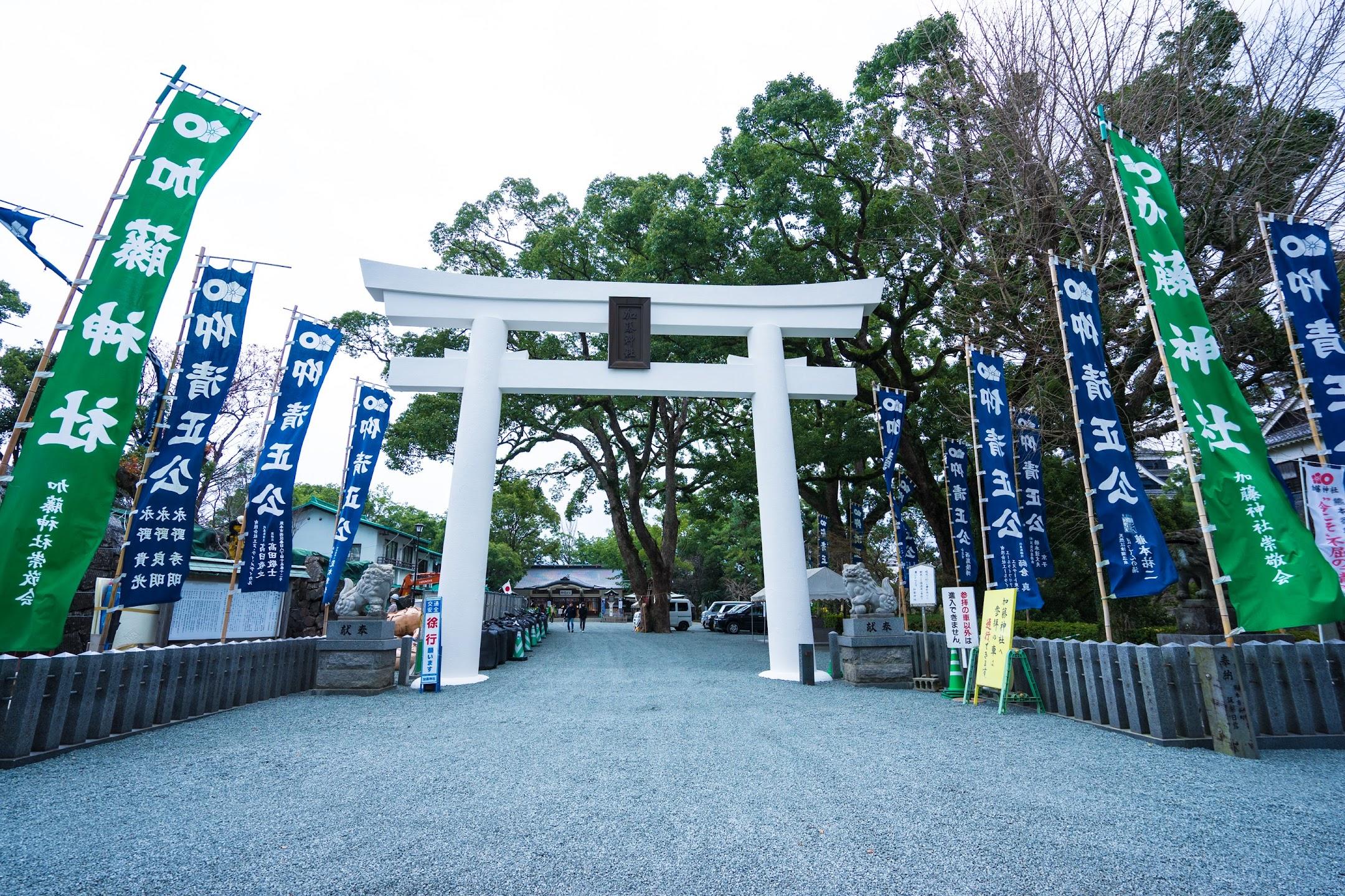 熊本城 加藤神社1