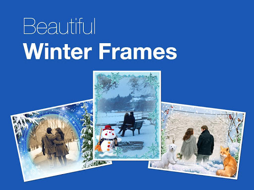 Beautiful Winter Photo Frames