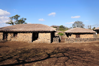 Photo: Most of the huts or houses in Seongeup Folk Village someone still lives there. But not these.