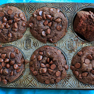 Double Chocolate Coconut Flour Muffins Recipe