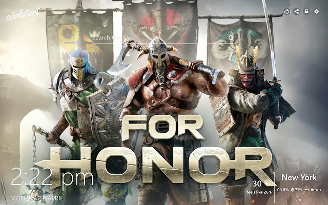 For Honor HD Wallpapers Games New Tab Theme