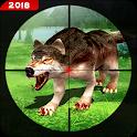 Hunting Wild Animals Sniper 3D - Wolf Hunter 2018 icon
