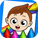 Baby Town : Kids Coloring Book icon