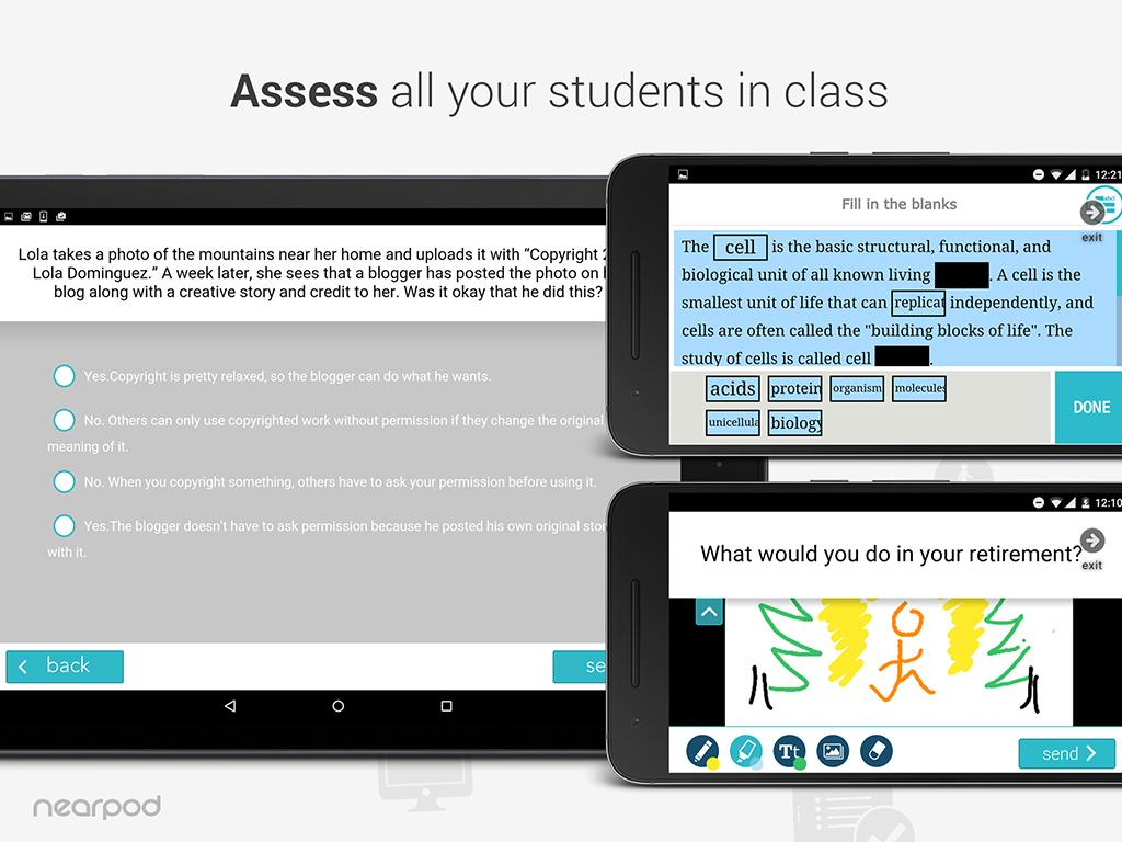 Nearpod- screenshot
