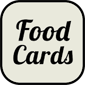 Food Names Cards: Learn Food