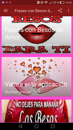 Download Frases Con Besos De Amor Google Play Softwares