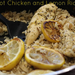 One Pot Chicken and Lemon Rice Recipe