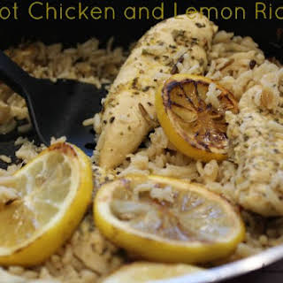 One Pot Chicken and Lemon Rice.