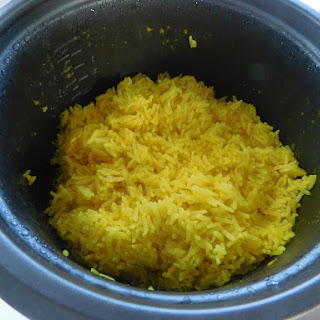 Yellow Rice I (Rice Cooker).