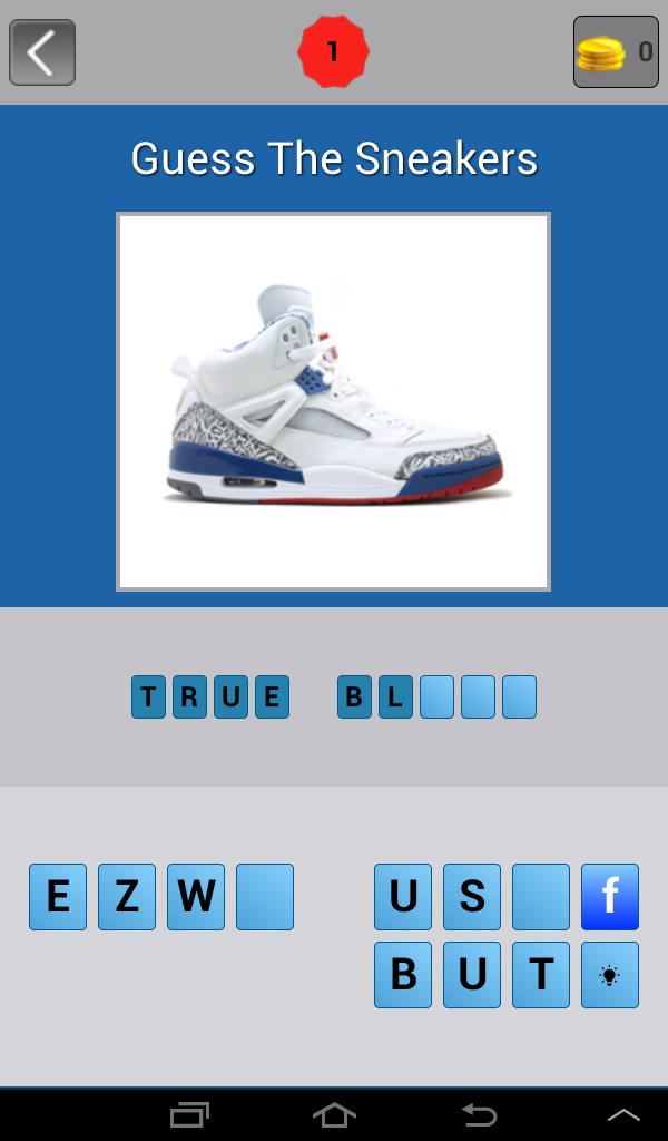 Скриншот Guess: Sneakers Trivia Quiz