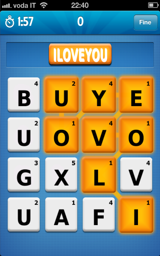 Say it with Ruzzle- screenshot
