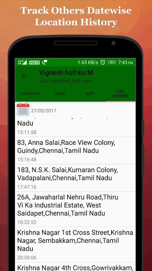 Uniqtracker - Location Tracker, Personal Diary- screenshot