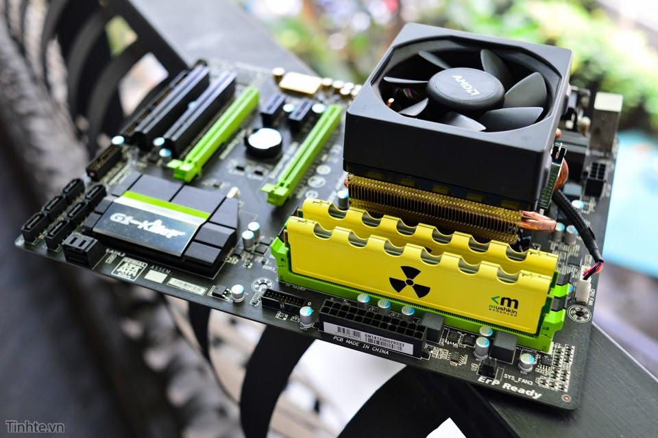 Tìm hiểu về tản nhiệt khí dành cho CPU máy tính