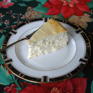 Fluffy Crustless Cheesecake