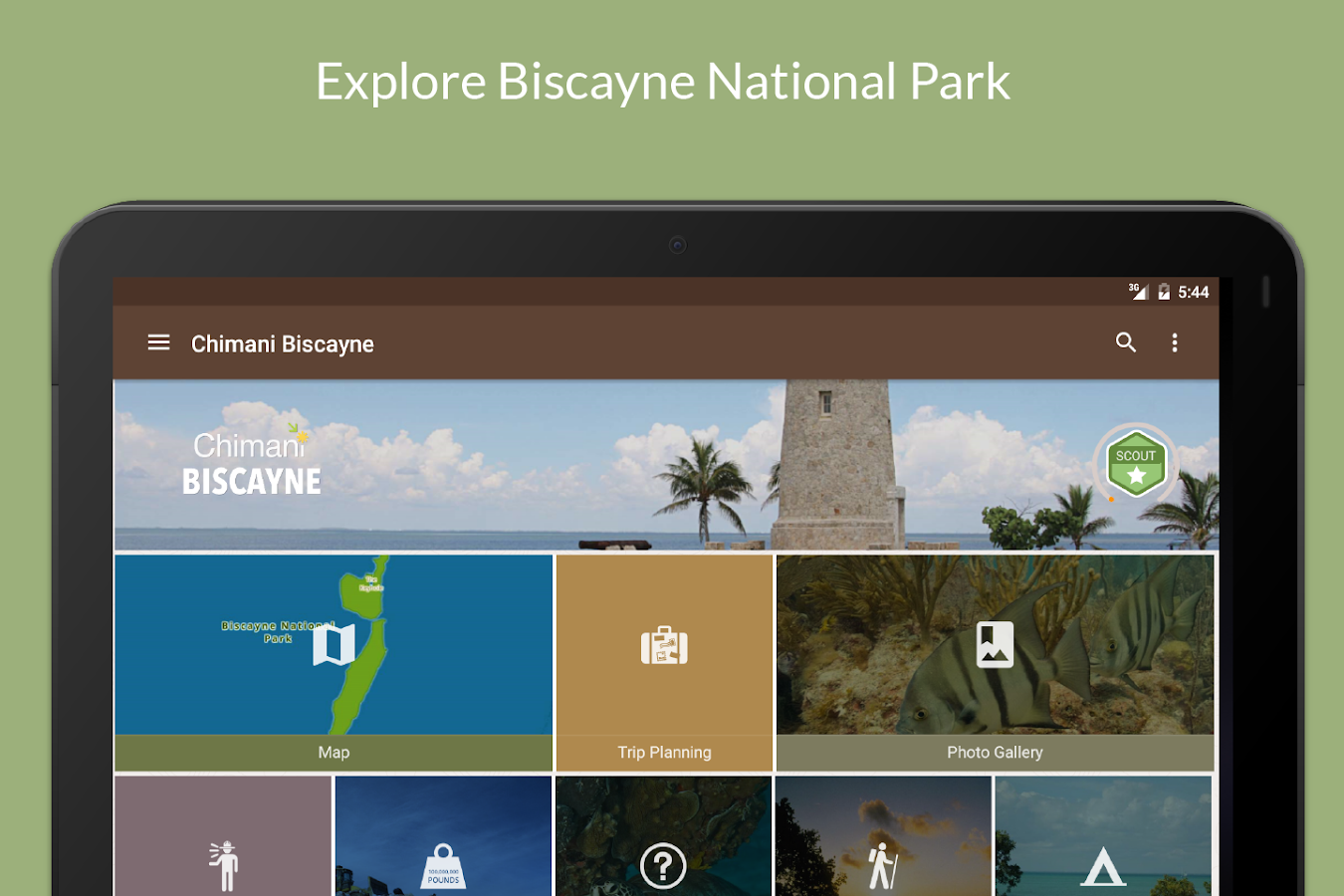 Biscayne Natl Park by Chimani- screenshot